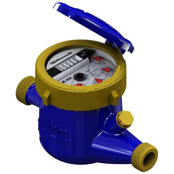 Многоструйные счётчики холодной воды MNK-UA (Мокроход)